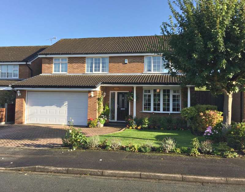 4 Bedrooms Detached House for sale in POYNTON ( ADLINGTON CLOSE )