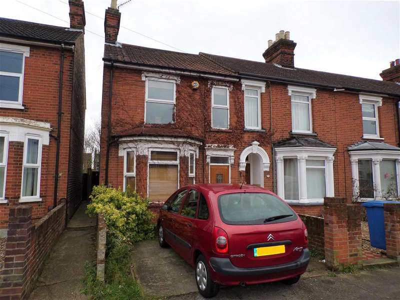 4 Bedrooms End Of Terrace House for sale in Wellesley Road, Ipswich
