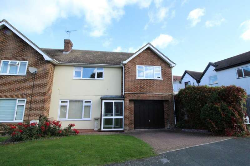 4 Bedrooms Semi Detached House for sale in Cricketers Drive , Meopham, Kent DA13