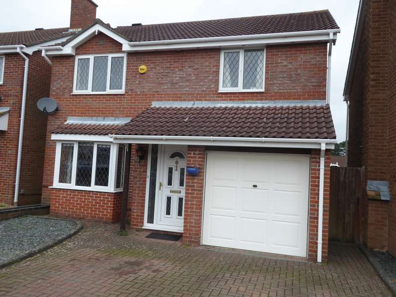 4 Bedrooms Detached House for sale in Okement Close, West End, Southampton, SO18