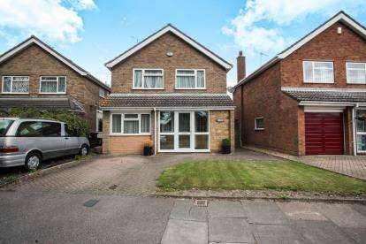 3 Bedrooms Detached House for sale in Sutton Gardens, Luton, Beds
