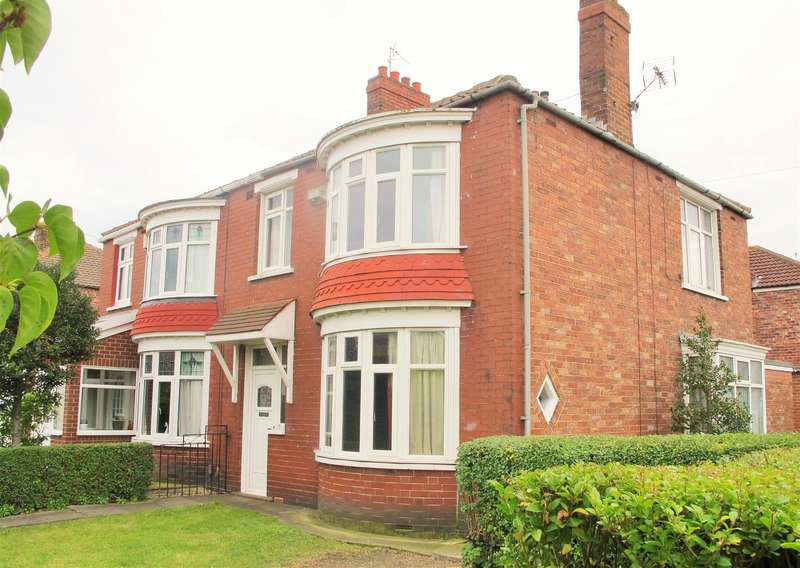 3 Bedrooms Semi Detached House for sale in Cambridge Road, linthorpe, Middlesbrough, TS5 5HP