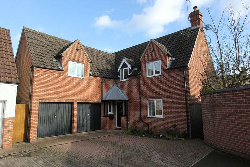 4 Bedrooms Detached House for sale in Kingsgate, Lockington, Derby, Derby, Leicestershire, DE74 2YX