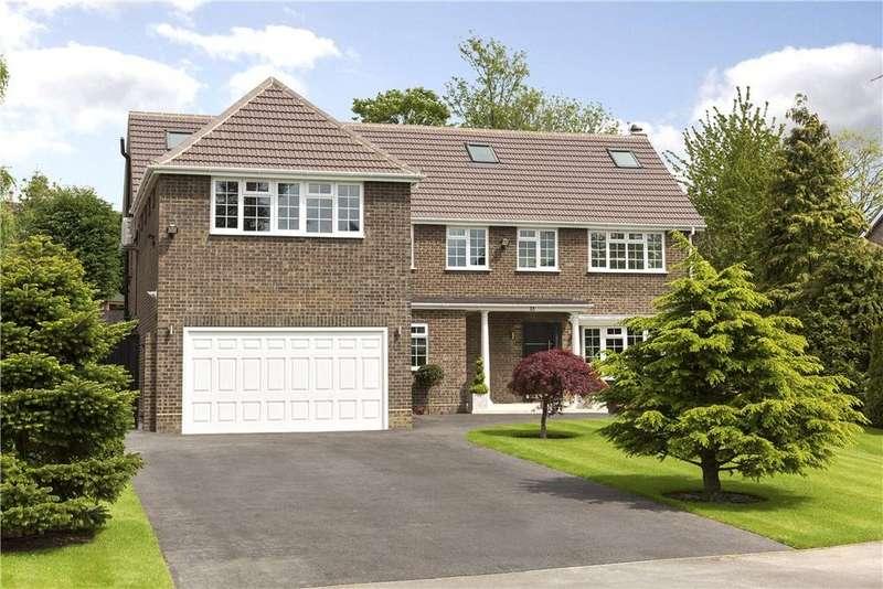 6 Bedrooms Detached House for sale in Pine Walk, Cobham, Surrey, KT11