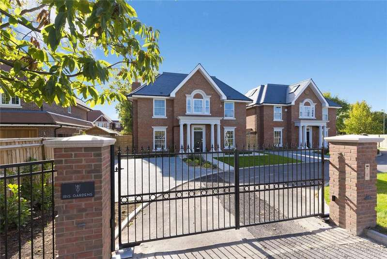 5 Bedrooms Detached House for sale in Iris Gardens, Embercourt Road, Thames Ditton, Surrey, KT7
