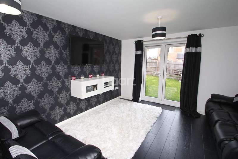 2 Bedrooms End Of Terrace House for sale in Minerva Grove, Hucknall