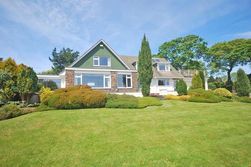 4 Bedrooms Detached House for sale in Feock, Nr. Truro, South Cornwall, TR3