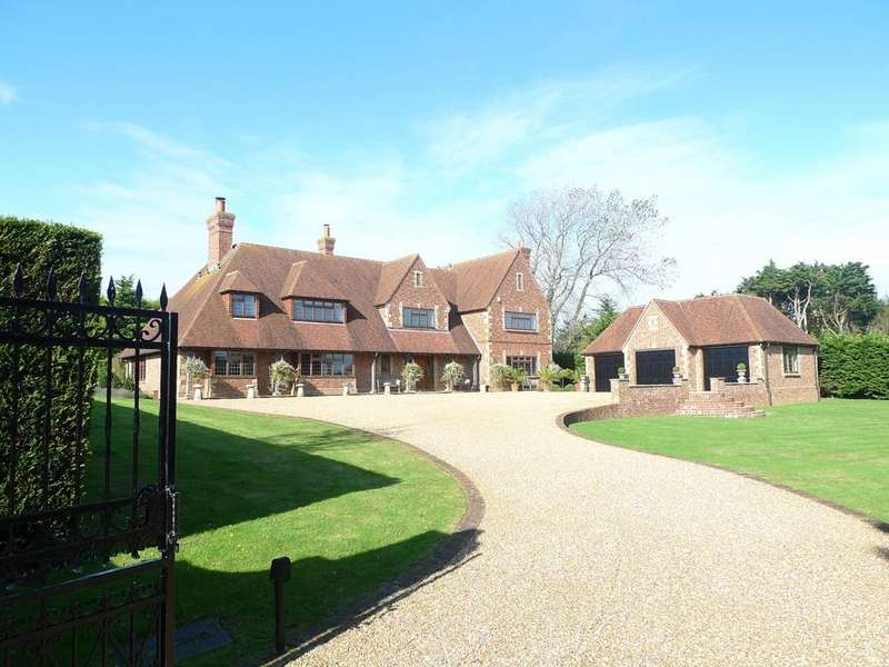 5 Bedrooms Detached House for sale in Friston Downs, Friston, Eastbourne, BN20