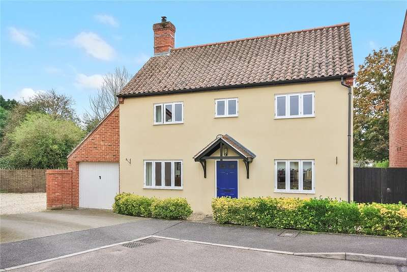 4 Bedrooms Detached House for sale in Standerwick Orchard, Broadway, Ilminster, Somerset, TA19