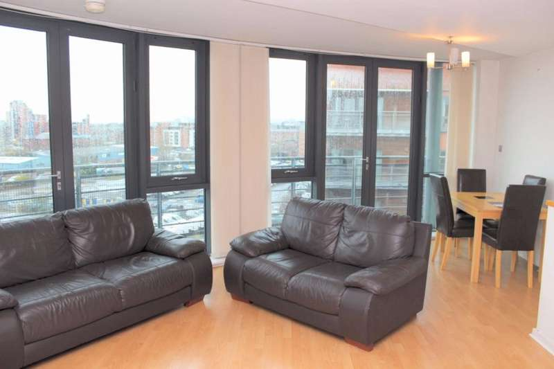 2 Bedrooms Apartment Flat for sale in City South, 39 City Road East, Manchester, M15