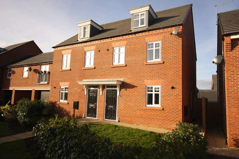 3 Bedrooms Semi Detached House for sale in Buttonbush Drive, Nantwich, CW5