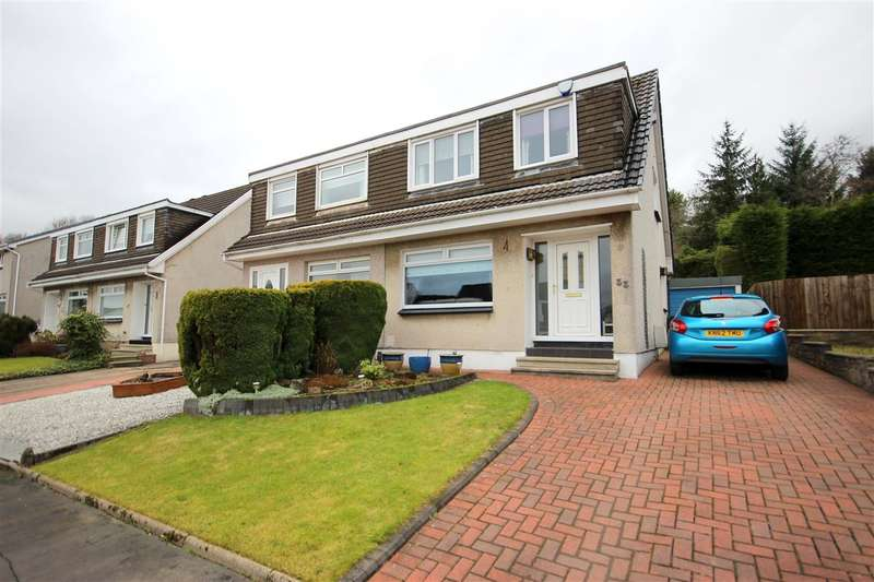 3 Bedrooms Semi Detached House for sale in Myvot Avenue, Cumbernauld