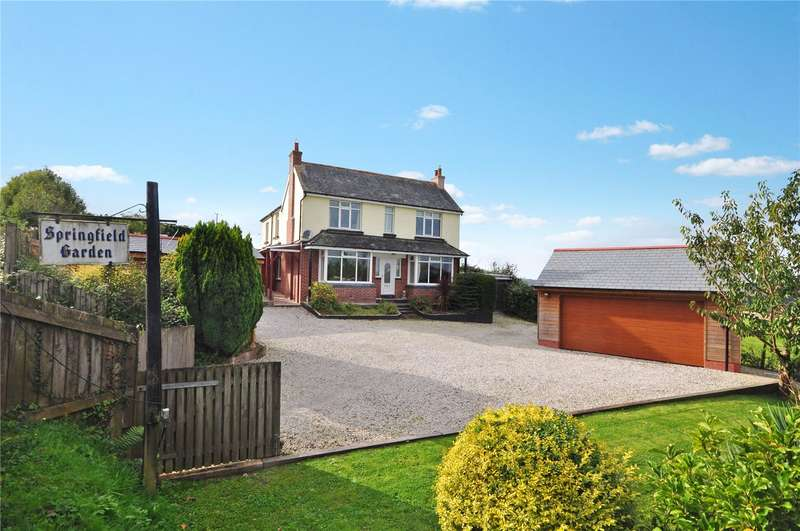 4 Bedrooms Detached House for sale in Atherington, Umberleigh, Devon, EX37