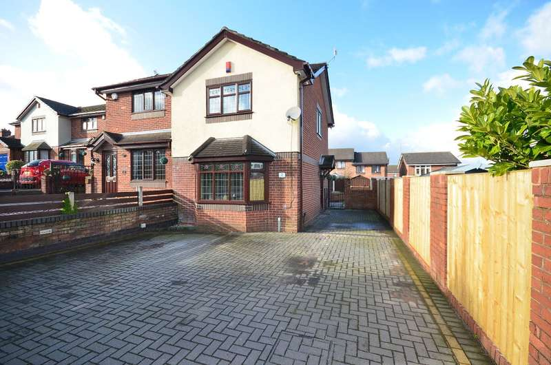 2 Bedrooms Semi Detached House for sale in Dellwood Grove, Sandford Hill, ST3 5XD