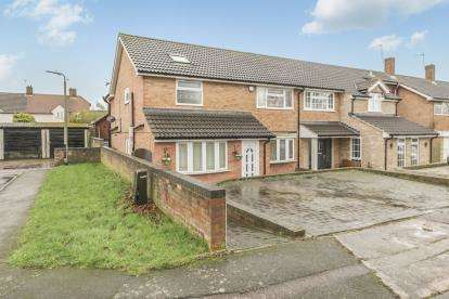 4 Bedrooms End Of Terrace House for sale in Four Acres, Stevenage, Hertfordshire, England