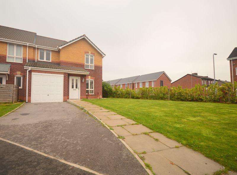 3 Bedrooms Semi Detached House for sale in Carpathia Close, Garston