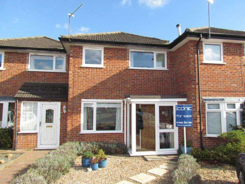 3 Bedrooms Terraced House for sale in Weston Court, Old Catton, Norwich