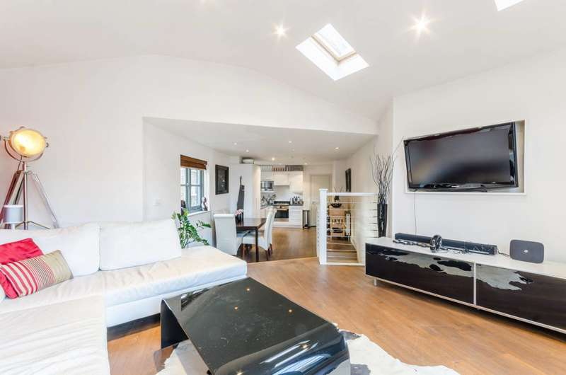 2 Bedrooms House for sale in Shorrolds Road, Fulham Broadway, SW6