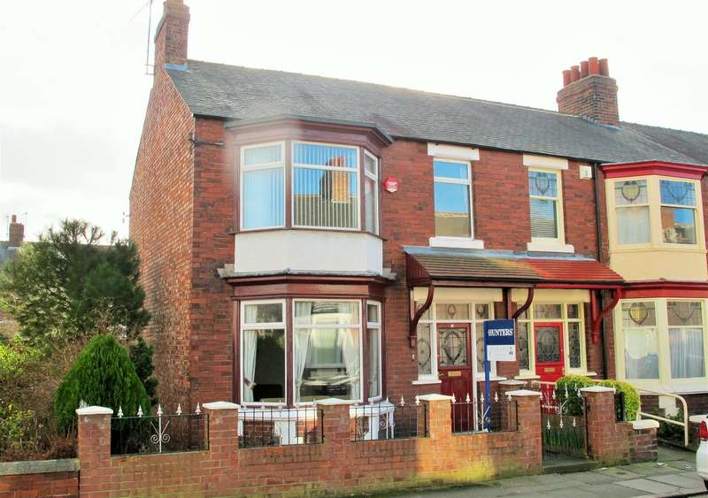 4 Bedrooms End Of Terrace House for sale in Lambeth Road, Linthorpe, Middlesbrough, TS5 6EB
