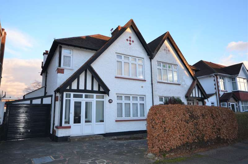 3 Bedrooms Semi Detached House for sale in Bassingham Road, Wembley, Middlesex, HA0 4RJ