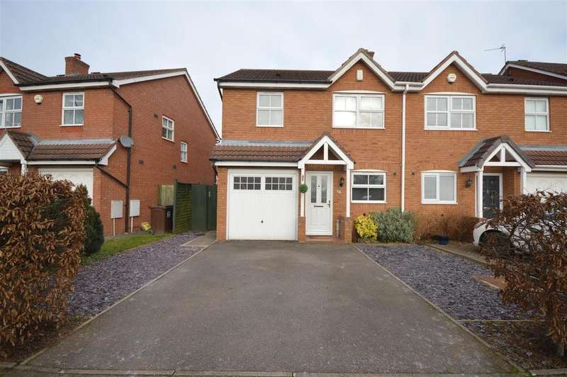 3 Bedrooms Semi Detached House for sale in Ludworth Avenue, Marston Green, Birmingham