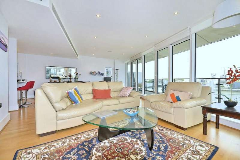 3 Bedrooms Flat for rent in Commodore House, Battersea Reach, Battersea, SW18