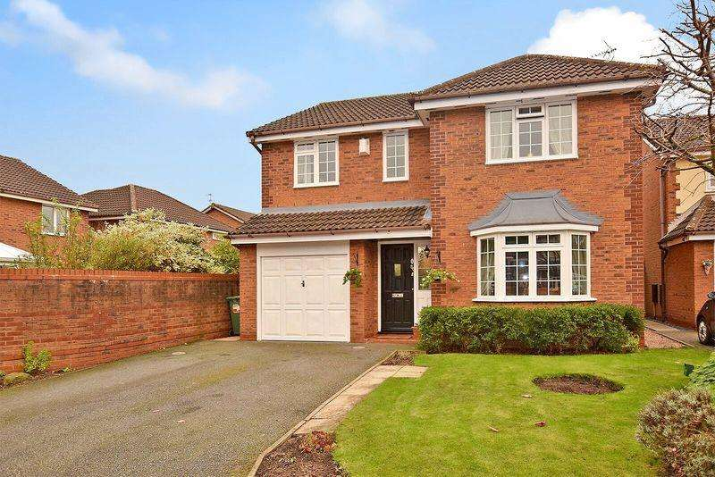 4 Bedrooms Detached House for sale in Dorchester Park, Sandymoor, Cheshire
