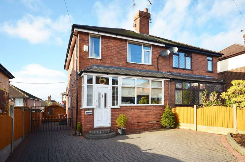 3 Bedrooms Semi Detached House for sale in Gibson Place, Meir, ST3 5PQ