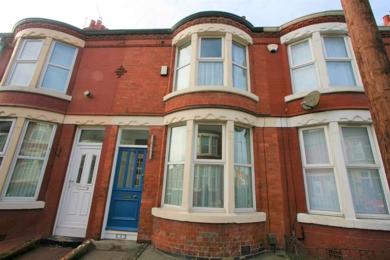 2 Bedrooms Terraced House for sale in Greencroft Road, Wallasey, CH44