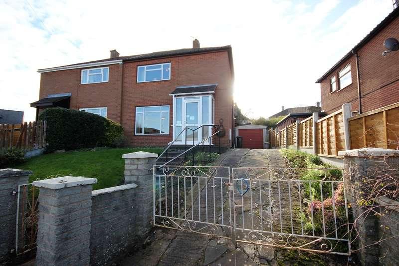 2 Bedrooms Semi Detached House for sale in Hazel Close, Worcester, WR4