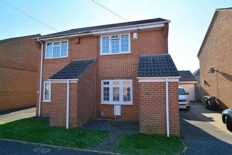 2 Bedrooms Semi Detached House for sale in Copper Beech Gardens, Bournemouth