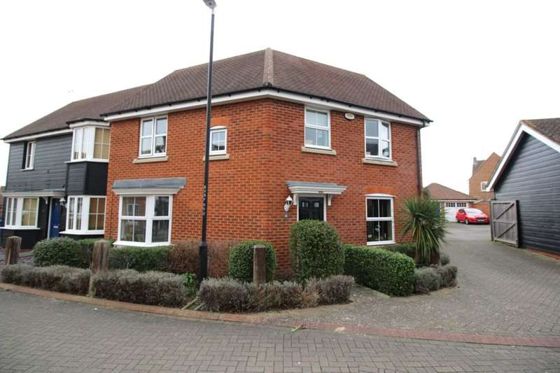 3 Bedrooms Semi Detached House for sale in Violet Court, Sittingbourne, ME10