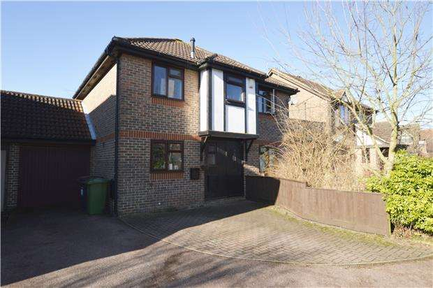 4 Bedrooms Detached House for sale in Boulter Drive, Abingdon, Oxon, OX14 1XG