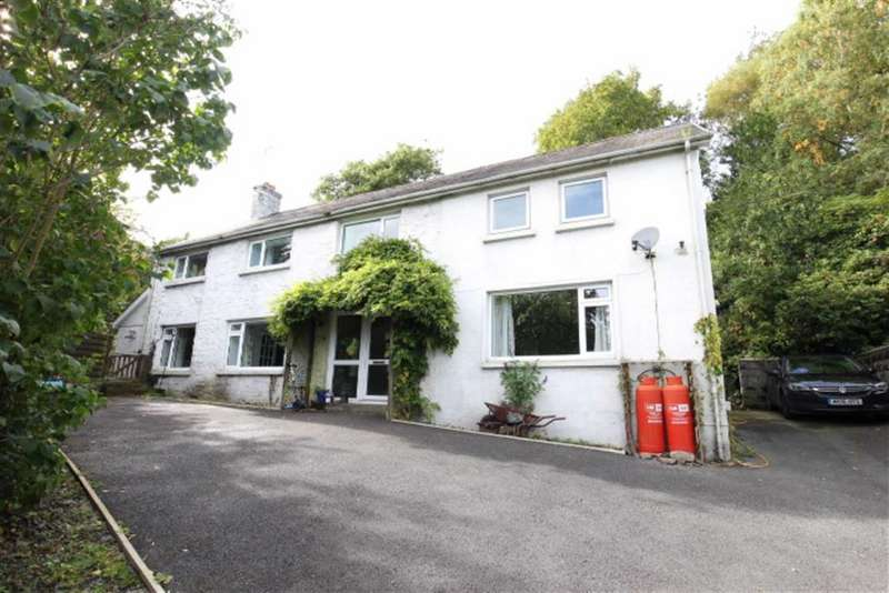 4 Bedrooms Detached House for sale in Comins Coch, Aberystwyth