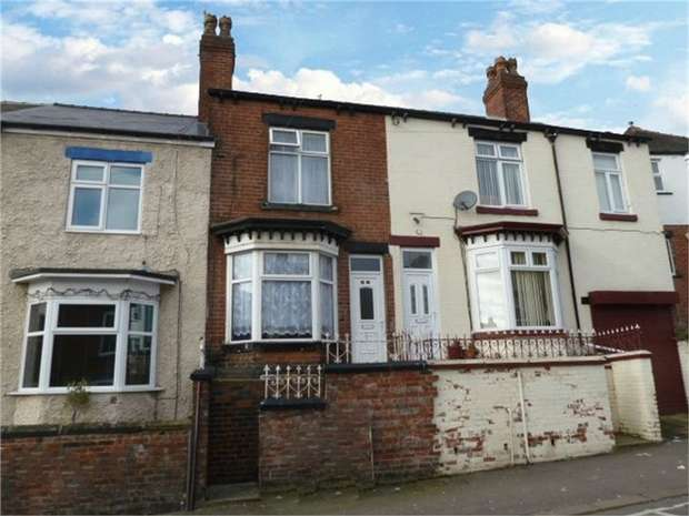 3 Bedrooms Terraced House for sale in Vickers Road, Sheffield, South Yorkshire