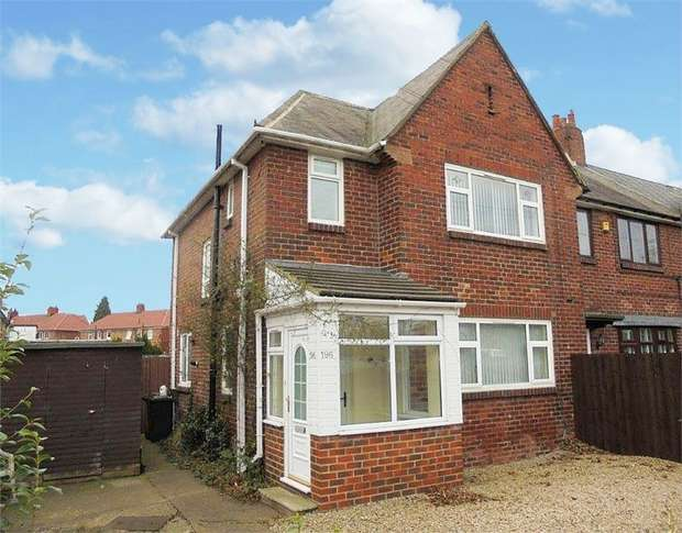 3 Bedrooms End Of Terrace House for sale in Scrogg Road, Newcastle upon Tyne, Tyne and Wear