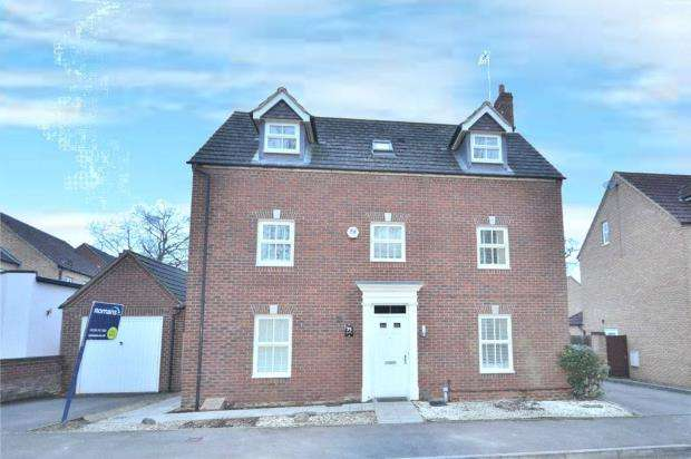 5 Bedrooms Detached House for sale in Lillymill Chine, Chineham, Basingstoke