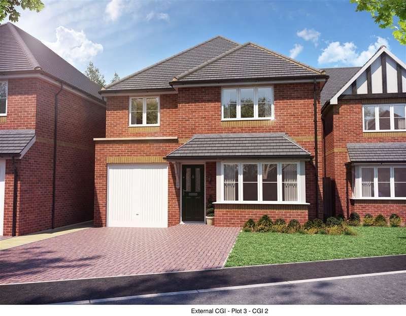 4 Bedrooms Detached House for sale in Forest Drive, Stafford