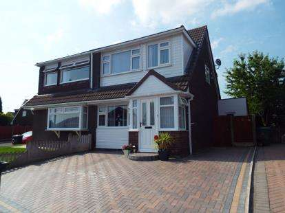 3 Bedrooms Semi Detached House for sale in Ascot Avenue, Higher, Runcorn, Cheshire, WA7