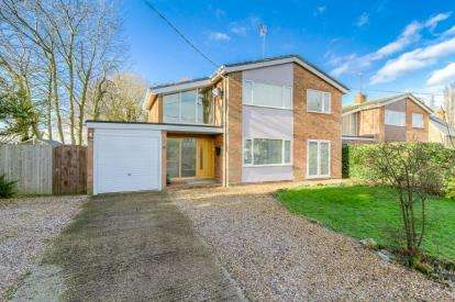 4 Bedrooms Detached House for sale in Sharnbrook Road, Souldrop, Bedford, Bedfordshire