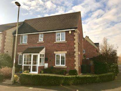 3 Bedrooms End Of Terrace House for sale in Grebe Road, Bicester, Oxfordshire