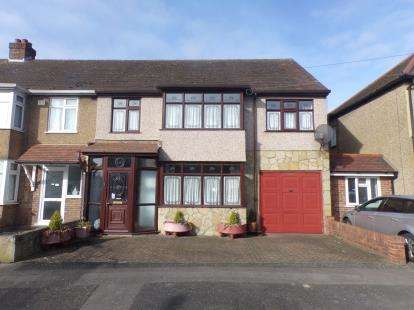 5 Bedrooms End Of Terrace House for sale in Romford, Essex, Havering
