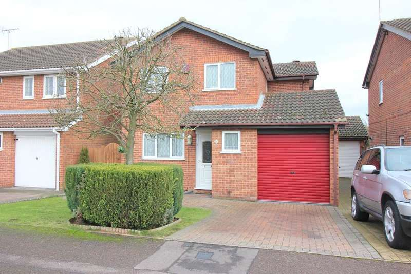 4 Bedrooms Detached House for sale in Kirby Drive, Luton, Bedfordshire, LU3 4AJ