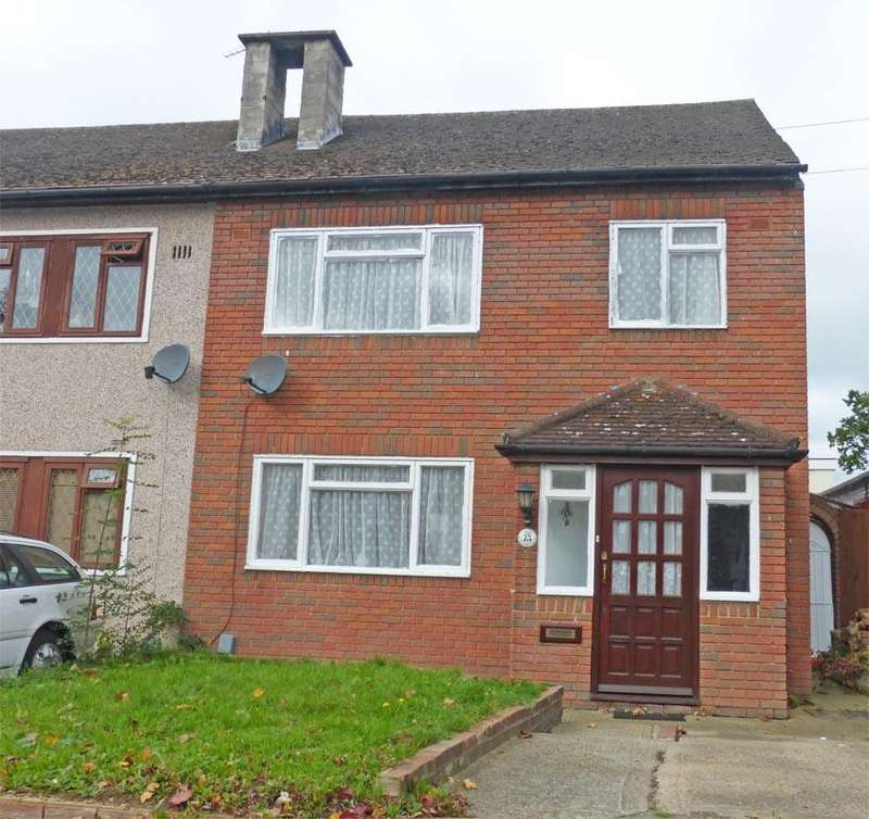 3 Bedrooms Semi Detached House for sale in St Neots Road, HAROLD HILL RM3