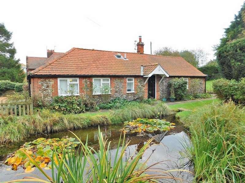3 Bedrooms Detached Bungalow for sale in Hurdle Lane, Glandford, Holt