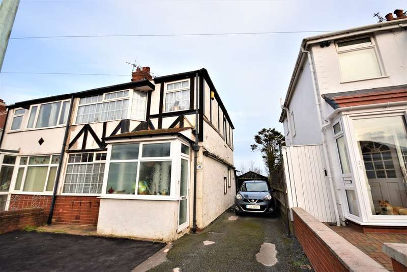 3 Bedrooms Semi Detached House for sale in Toronto Avenue, Blackpool