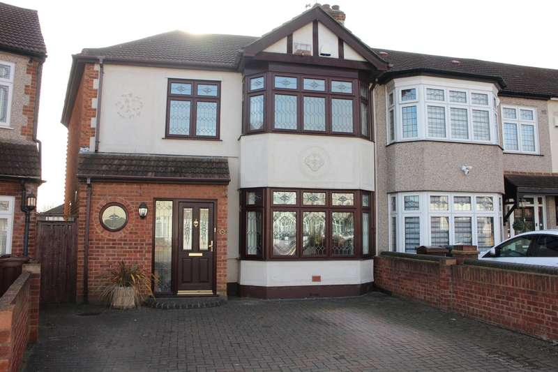 4 Bedrooms End Of Terrace House for sale in Laurel Crescent, Rush Green
