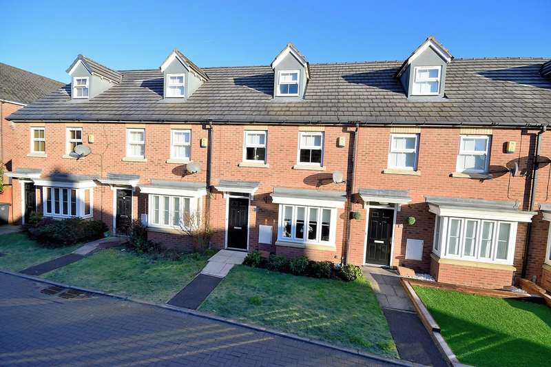 3 Bedrooms Town House for sale in Atlanta Gardens, Great Sankey, Warrington