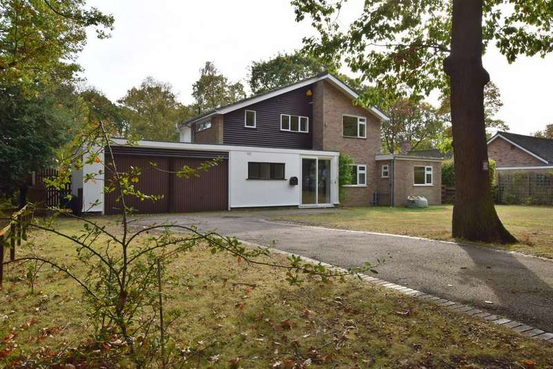 5 Bedrooms Detached House for sale in Welshwood Park Road