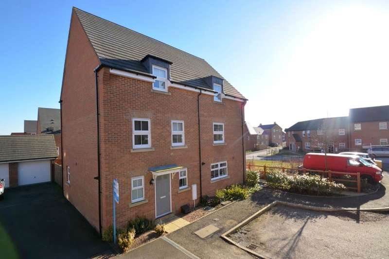 3 Bedrooms Semi Detached House for sale in Mendip Way, Corby, NN18